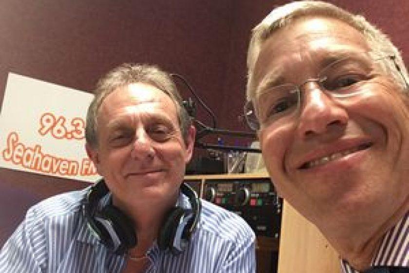 Roy Stannard with Giles Robinson