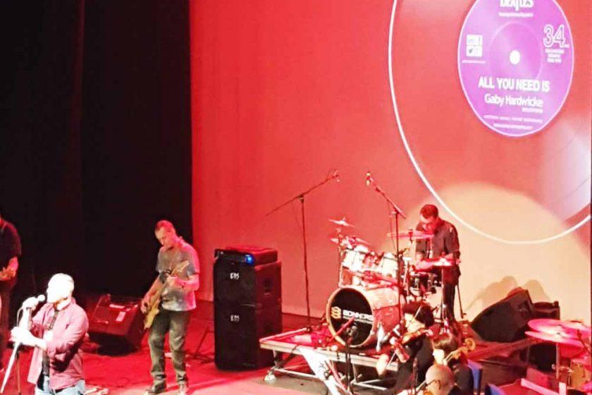 Hastings Beatles Day stage