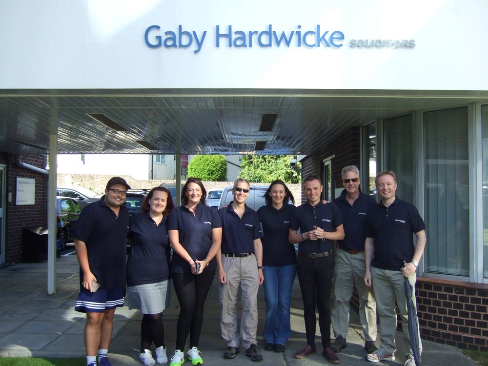 Our Eastbourne Legal Walk team