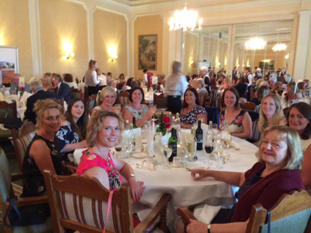 The Gaby Hardwicke party at the summer Luncheon