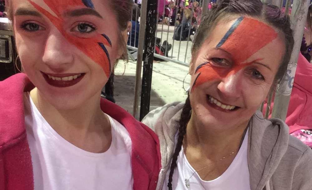 Pollyanna and Wendy at the 2016 London MoonWalk