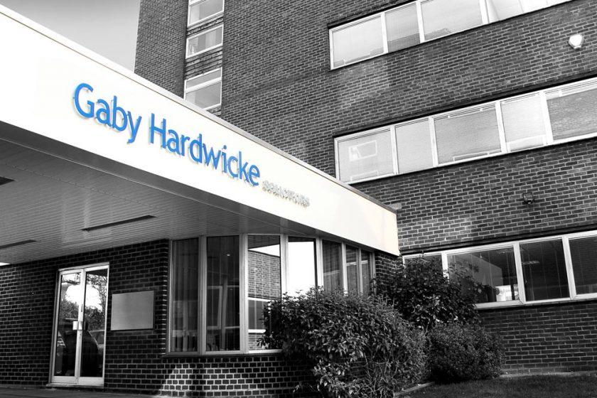 Gaby Hardwicke's Eastbourne office