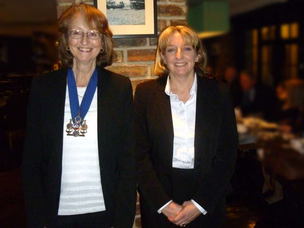 Jane Strickland and Debra Frazer
