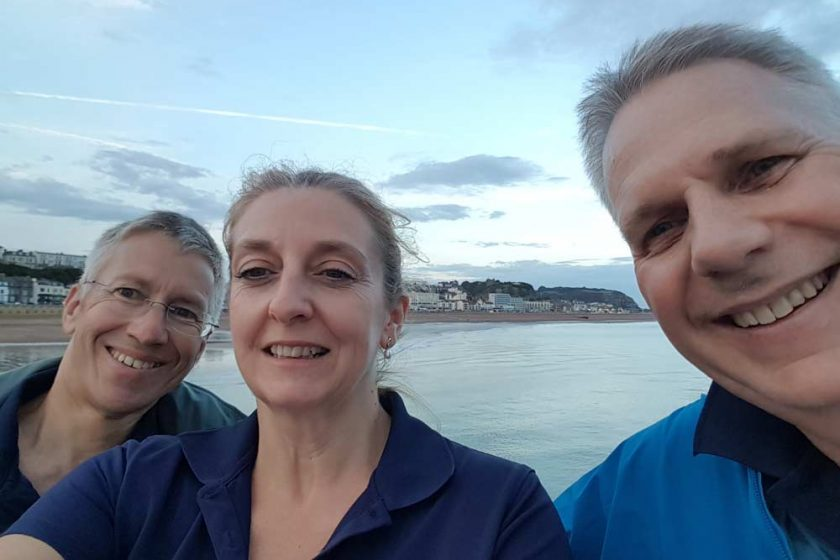 GH partners on the Hastings Legal Walk