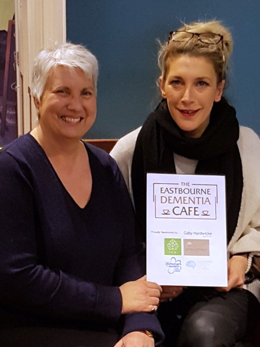 Lindsay Richardson with Jane Lowe