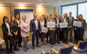 Dementia Friends training at our Eastbourne office