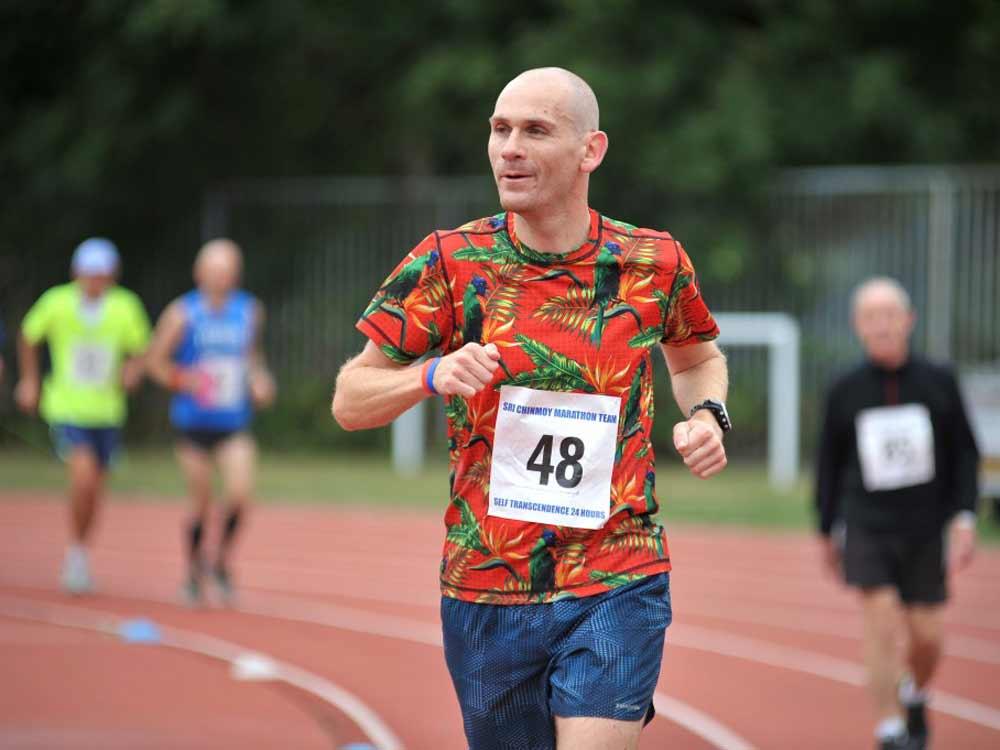 Jon on the endurance run