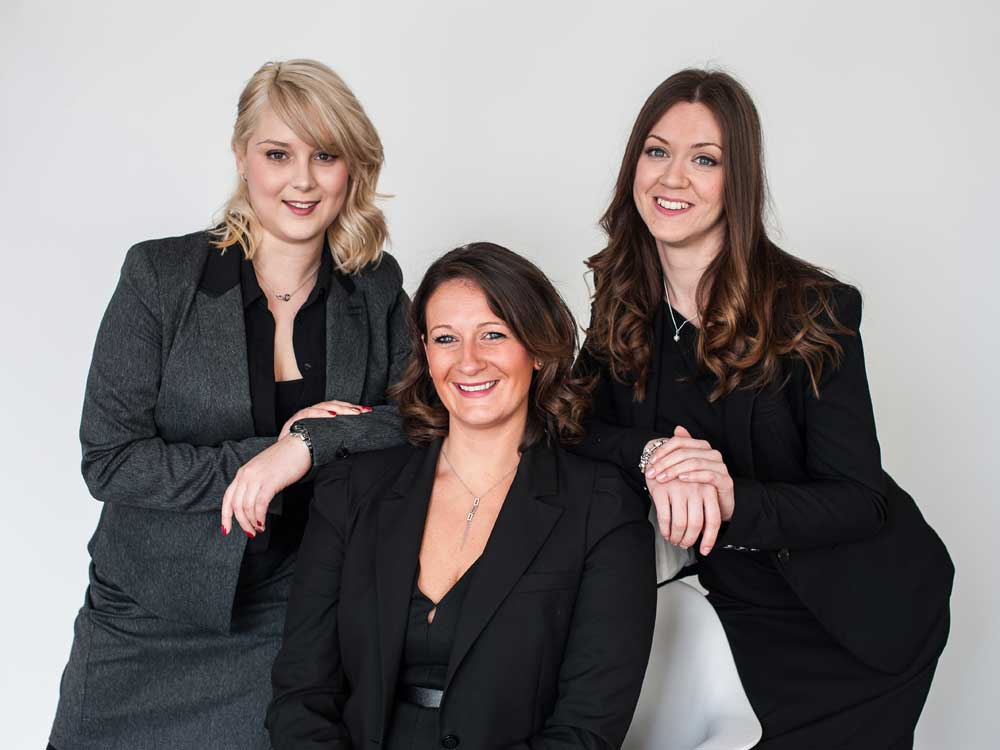 Lucy Hunting, Nicole Byrne and Lucy Dennett