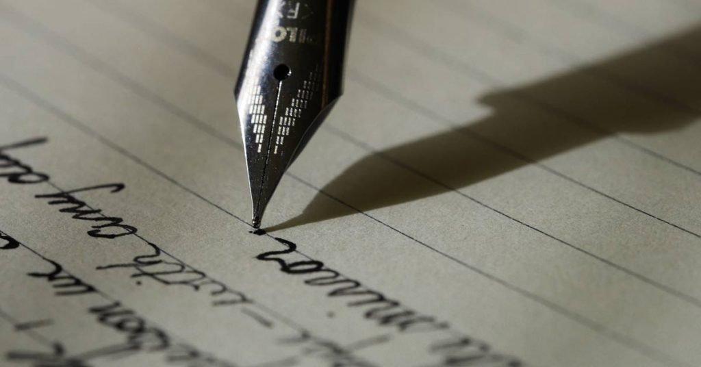 Hand-written document