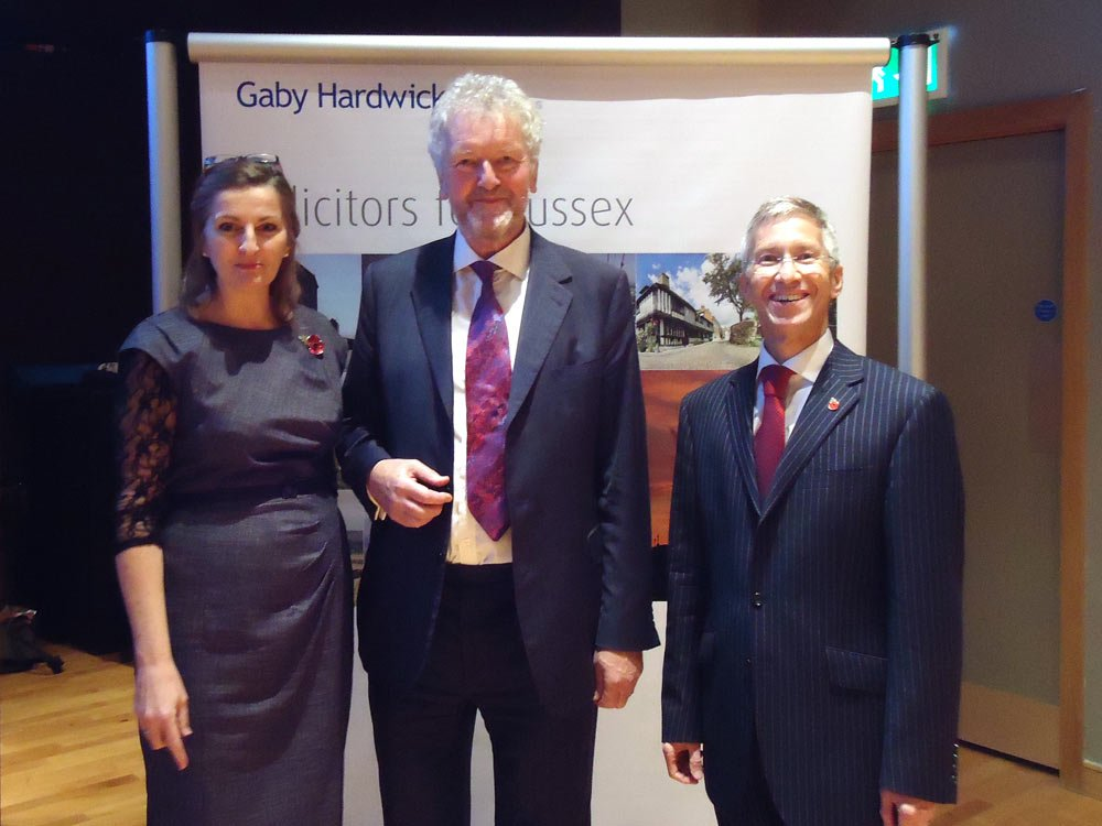 Caroline Ansell, Lord Lucas and Giles Robinson