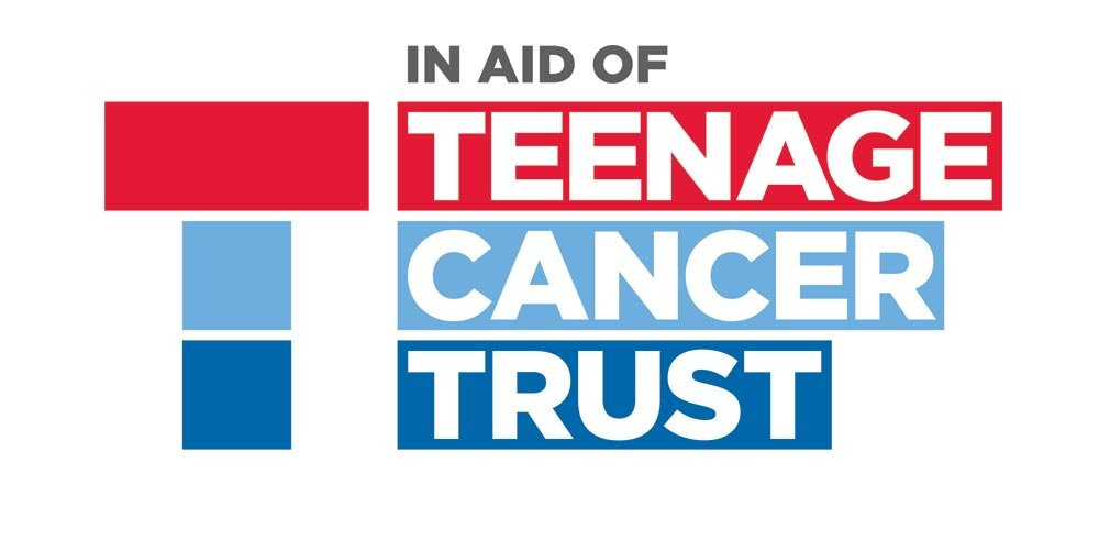 In aid of Teenage Cancer Trust