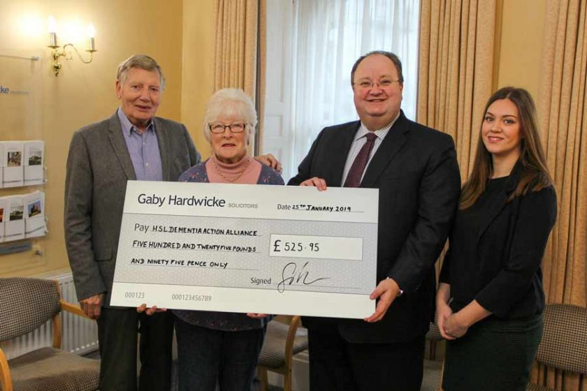 Hastings DAA cheque presentation